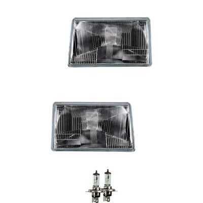 Halogen Scheinwerfer Set links /& rechts Hauptscheinwerfer Frontscheinwerfer H4 f/ür Model Grand Cherokee I ZJ ZG