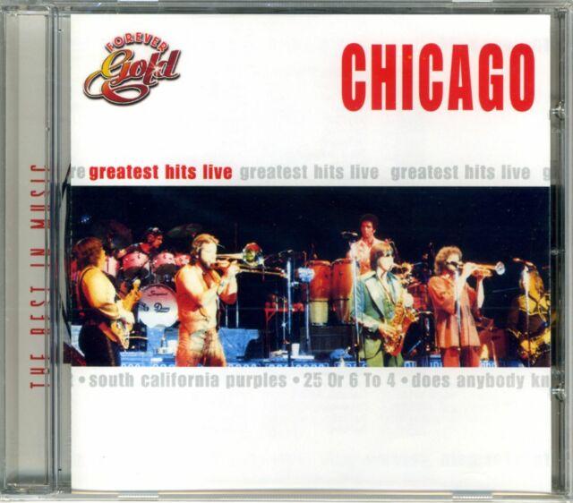 Chicago – Forever Gold - Greatest Hits Live ° CD-Album von 1969/2000 ° NEU OVP