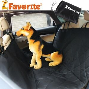 Favorite Waterproof Pet Car Seat Cover Nonslip Barriers Booster with Anchors