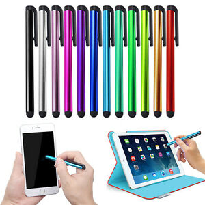 Universal Metal Touch Screen Stylus Pen for iPad iPhone Smart Phone Tablet TO