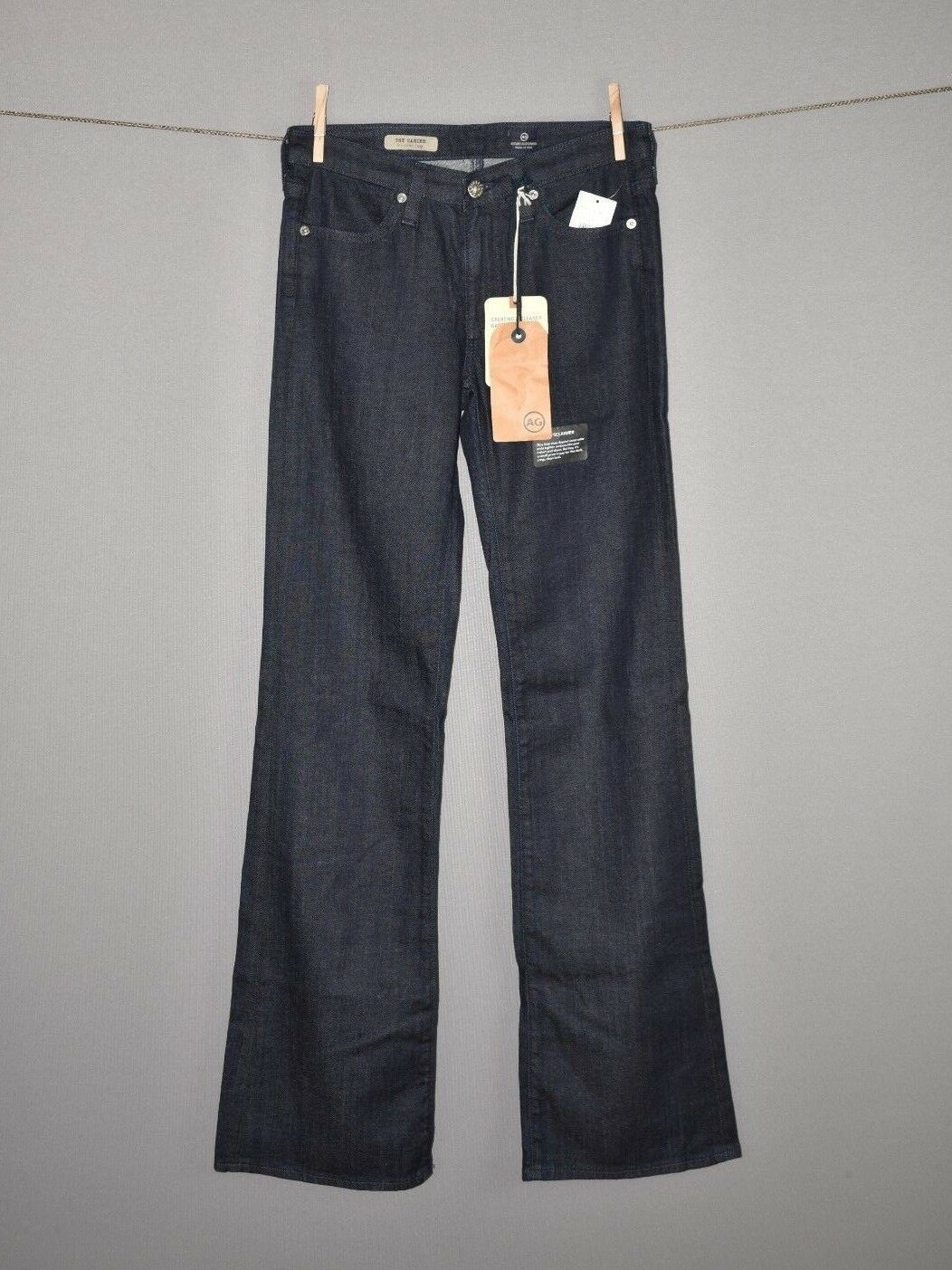 AG ADRIANO goldSCHMIED NEW  Dark Wash Carine Trouser Jean Size 26