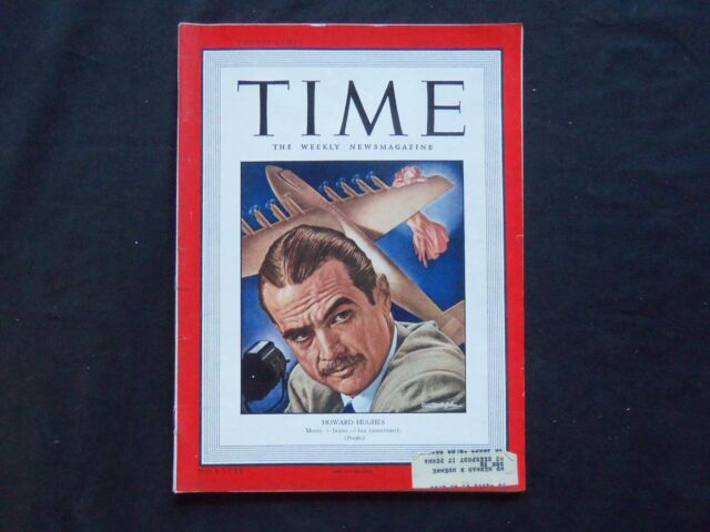 1948 JULY 19 TIME MAGAZINE - HOWARD HUGHES - T 1131