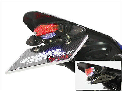 NEW YAMAHA WR250R WR250X LED SMOKE TAIL LIGHT LENS LICENSE PLATE HOLDER WRX 250