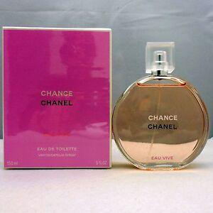 45009ae45ef Chanel Chance CHANCE EAU VIVE Eau de Toilette EDT 150ml NIB ...