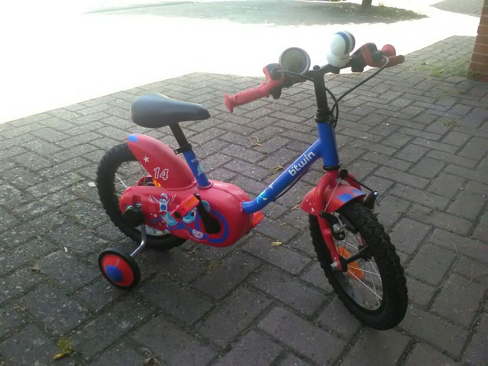 B'twin Kinder Fahrrad 14 14 14 Zoll 9f2e65