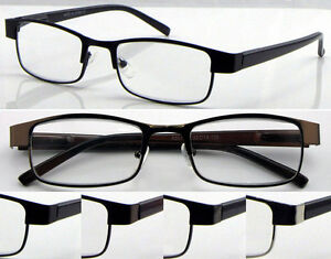 L419-Superb-Quality-Metal-Reading-Glasses-Spring-Hinges-Classic-amp-Fashion-Style