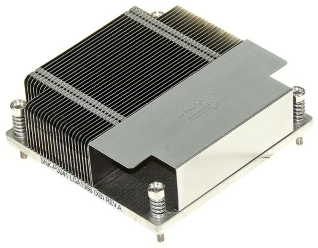 X8 Intel Xeon Socket Heatsink X9 Motherboard Supermicro 1U SNK-P0041 LGA1366