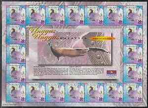 260S-MALAYSIA-2000-BIRDS-OF-MALAYSIA-30c-SHEETLET-FRESH-MNH