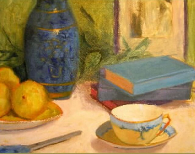 Painting the Impressionist Still Life in Oil Paint ART DVD by Margaret Aycock