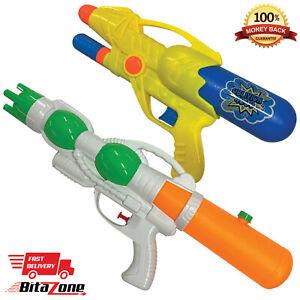 Water Gun Super Pump Action Cannon Soaker Pistol Sprayer Outdoor Garden Toy