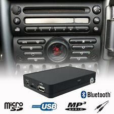 Car Bluetooth Handsfree A2DP USB CD Changer Adapter Mini Cooper R50 Boost Radio