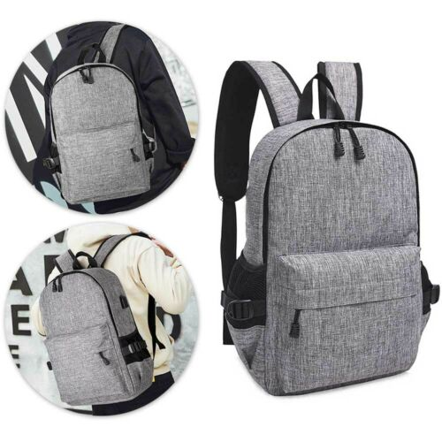 Unisex Anti-Theft Laptop Backpack Travel Business School Bag Rucksack USB Port
