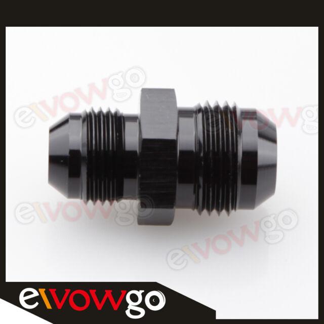 AN10 10AN AN-10 To AN-8 AN8 8AN Straight Reducer Fitting Adapter Black