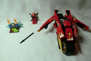 Lego Ninjago Rise of the Snakes Kai's Blade Cycle 9441 ...
