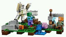 Lego Minecraft Child Play Build Creative Fun Craft  Block Table Kid Game Toy Set