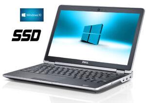 128 GB SSD  6GB DELL NOTEBOOK LAPTOP  E6320 Core i5  2,50 Ghz DVD-RW  Win10 Pro