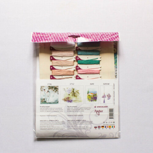 """Counted Cross Stitch Kit Riolis 1723 Promenade/"""" /""""Rococo"""