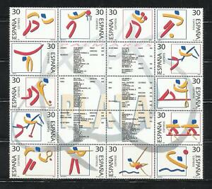 EspaÑa. Año: 1995. Tema: Olimpicos De Plata.