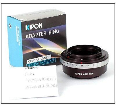CRX to NEX Adapter,for Contarex Mount CRX Lens to for Sony E A6300,A7,A7R NEX-6 NEX-3; NEX-5N,NEX-C3,NEX-5R,NEX-F3,NEX-7,NEX-6 NEX-VG10 VG20 VG30 VG900E EA50 Camera NEX-5 A7M2,NEX-7 A7II,A7S