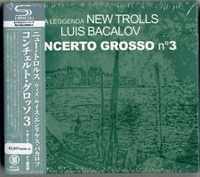 LA LEGGENDA NEW TROLLS LUIS BACALOV-CONCERTO GROSSO N3-JAPAN MINI LP SHM-CD Gi50