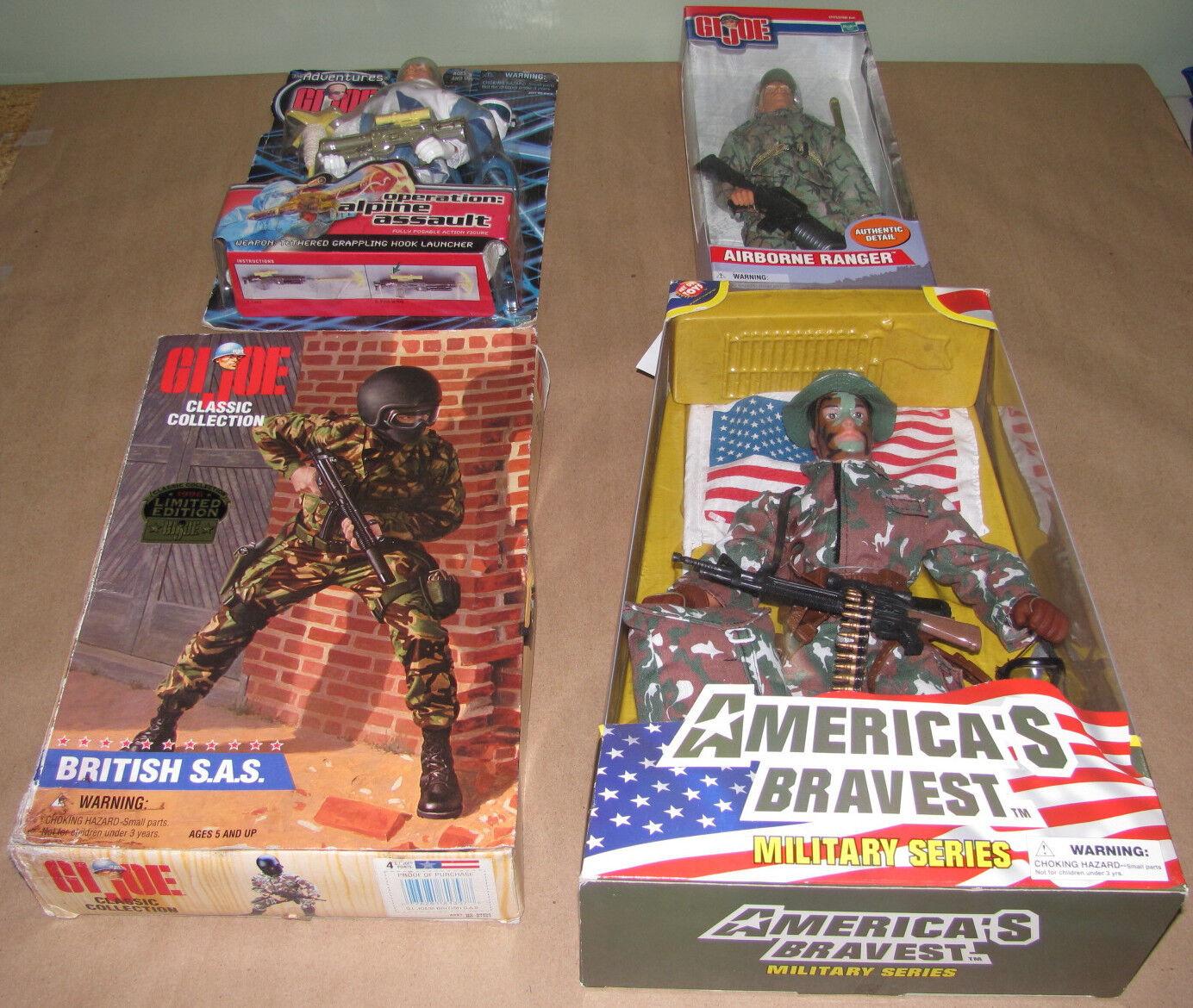 Lot of  Action Figures Includes G.I. Joe 2010, Airborne Ranger, etc. USC 901