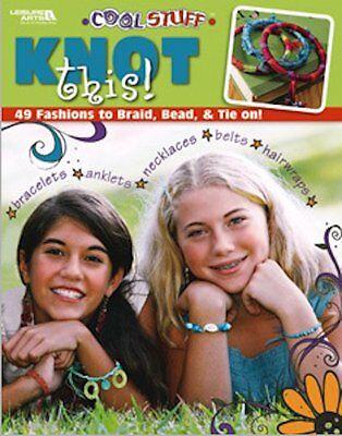 KNOTS THIS!-Glass Beads/Beading/Beaded Braiding Basic-Macrame-Jewelry Craft Book