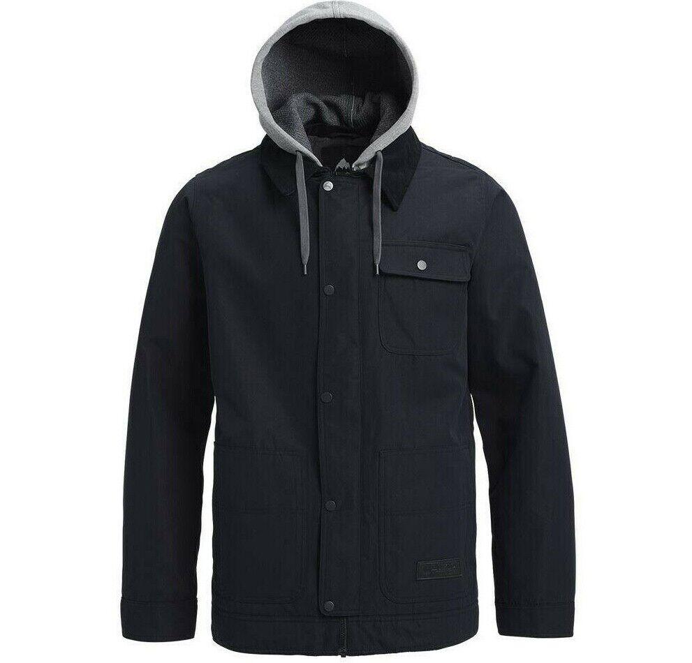 CAP da Uomo Burton Snowtavola Giacca da sci neve d'inverno d'inverno d'inverno cappotto nuovo GReE RRP 70a