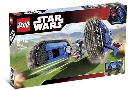 BRAND NEW LEGO Star Wars TIE Crawler 7664