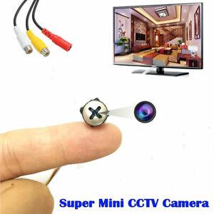 1200TVL Mini Screw Lens HD super smallest Micro tiny Color Video little camera