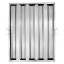 25 X 20 X 2 Stainless Steel Commercial Kitchen Exhaust Hood Grease Filter