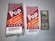 100 Popcorn Bags Gold Medal 1 Oz Parties Carnivals Home Theater Free Shipping