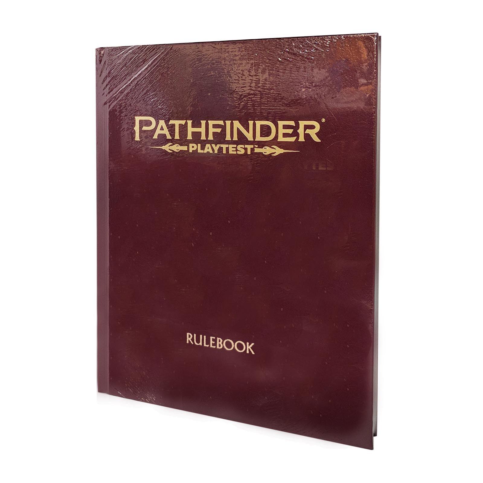 Pathfinder Playtest Rulebook Deluxe Hardcover NEW Paizo Publishing