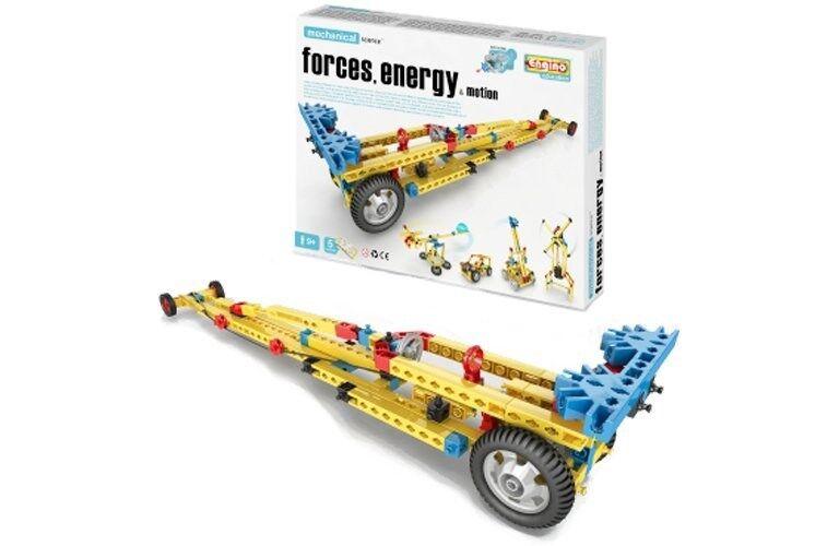 ELENCO ENG-M11 Engino Mechanical Construct Set - Forces, Energy, Motion Ages 8+