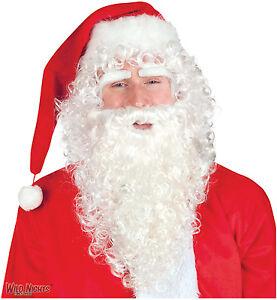 CHRISTMAS-SANTA-BEARD-WIG-amp-EYEBROW-SET