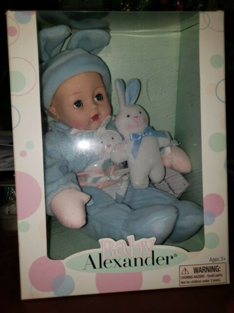 Pink Check Huggums 12/'/' Baby Doll by Madame Alexander New