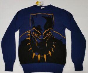 Marvel Black Panther Wakanda Holiday Ugly Christmas Kids Knitted Sweater