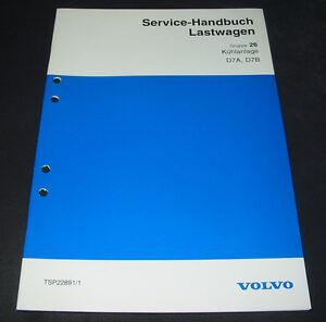Werkstatthandbuch-Volvo-LKW-Lastwagen-Kuehlanlage-D7A-D7B-Stand-1994