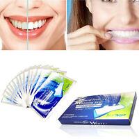 1/5/14 Pcs 3D Advanced Teeth Strong Whitening White Strips Tooth Bleaching Kit