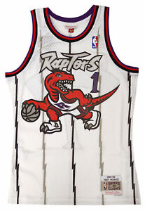 38beaa39c93 Image is loading Toronto-Raptors-Tracy-McGrady-White-Mitchell-amp-Ness-