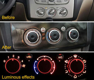 Details about FIT FOR FORD FOCUS S-MAX 05-10 AIR CON PANEL HEATER CONTROL  SWITCH KNOB DIALS