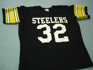 on sale 1dbd6 4a1fb Details about Vintage 70s FRANCO HARRIS Pittsburgh Steelers Jersey Nice !