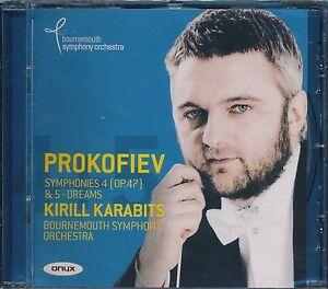 Kirill-Karabits-Bournemouth-Symphony-Orchestra-Prokofiev-Symhony-4-Op-47-CD-NEW