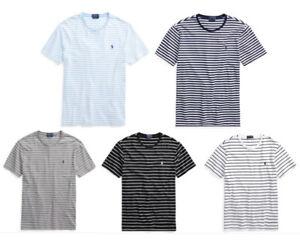 7400b31959e3 NWT POLO RALPH LAUREN Men Custom Slim Fit Cotton T-Shirt Tee S, M, L ...