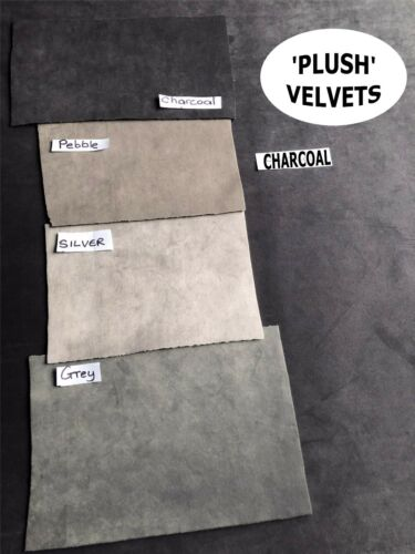 MADE TO ORDER DARK BROWN /'PLUSH/' VELVET LINED CURTAINS WIDE LONG BAY THERMAL
