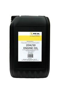20w-50-Classic-20w50-Vintage-Engine-Oil-25-Litre-25L-API-SF-CD-MIL-2104B