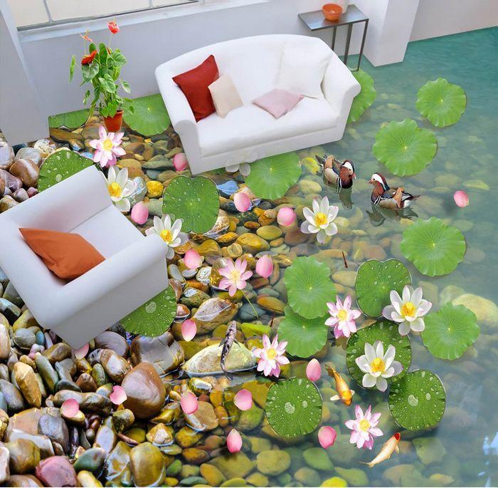 3D stone flower 0926 Floor WallPaper Murals Wall Print Decal 5D AJ WALLPAPER