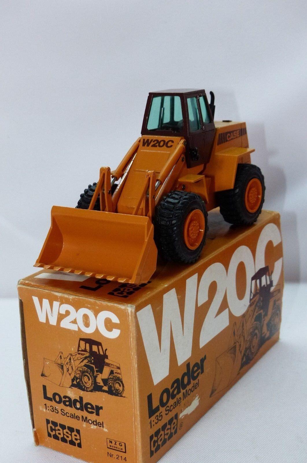 NZG Nº 214 affaire W20 C chargeuse à l'échelle 1.35 MB
