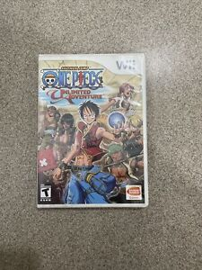 One Piece: Unlimited Adventure Nintendo Wii Complete w/Instruction Booklet