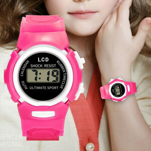 Children-Girl-Student-Analog-Digital-Sport-LED-Electronic-Waterproof-Wrist-Watch