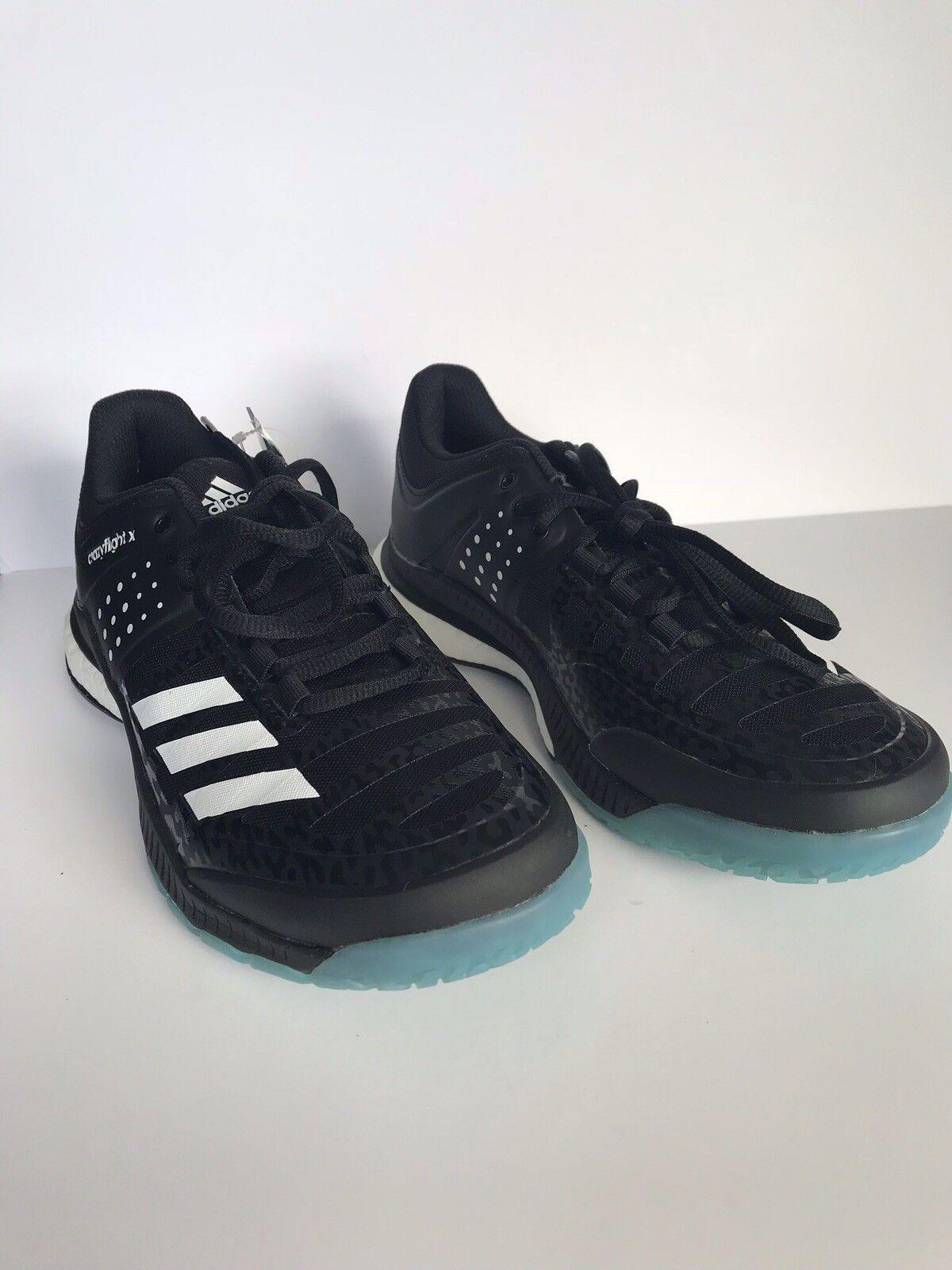 Adidas Crazyfly X  W scarpe - Wouomo Volleyball SKU BA9269 nero Dimensione 7  autentico online